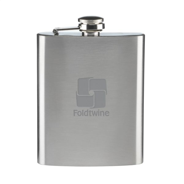 HipFlask RVS Heupfles